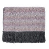 Kennbunk Home Mystic throw blanket in Shell