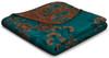 Biederlack Oriental Floral Blanket