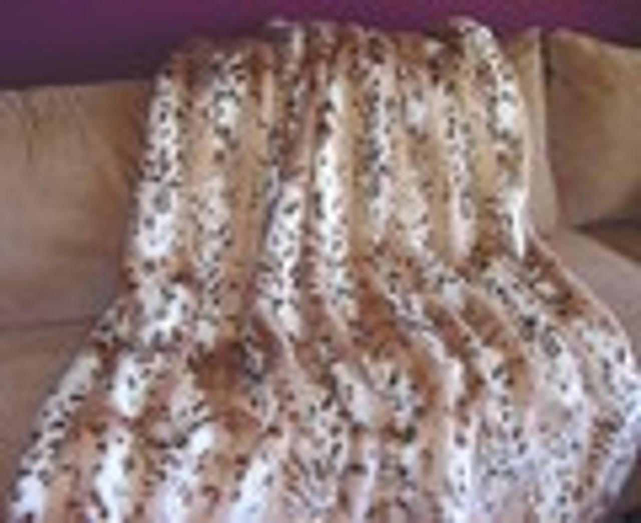 Luxury Faux Fur Blankets