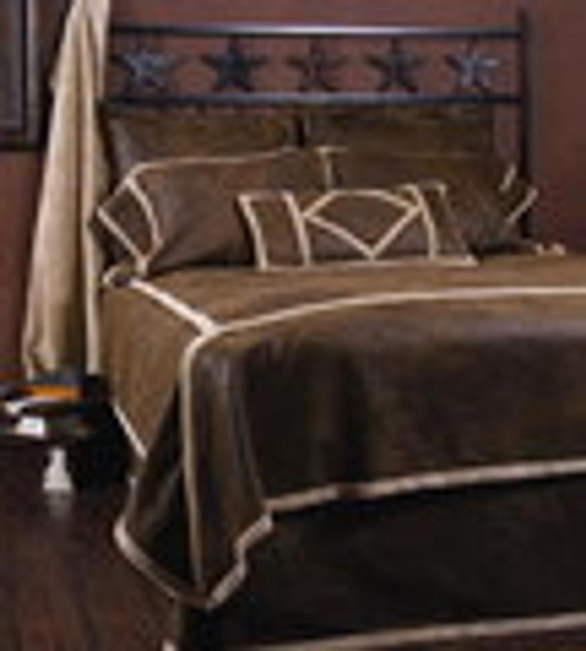Faux Leather Bedding