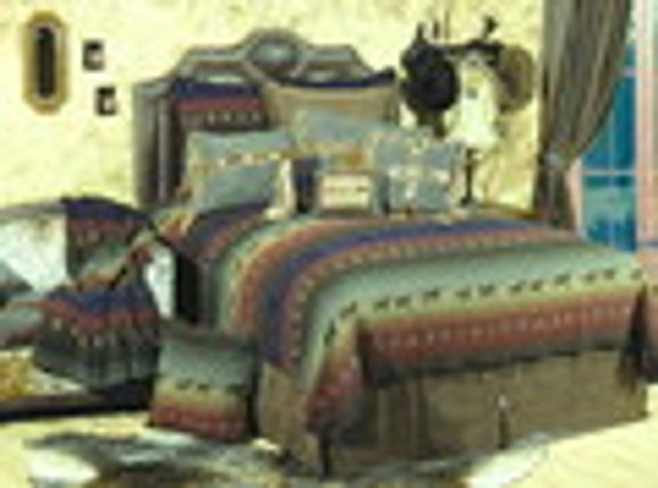 Mustang Canyon Bedspread Ensemble