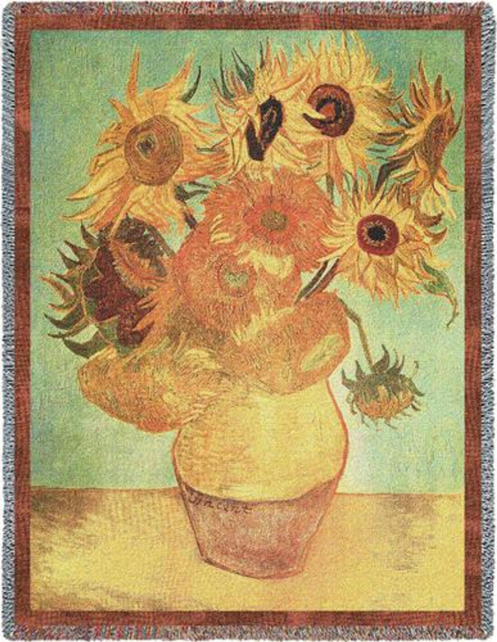 Van Gogh Art Throws