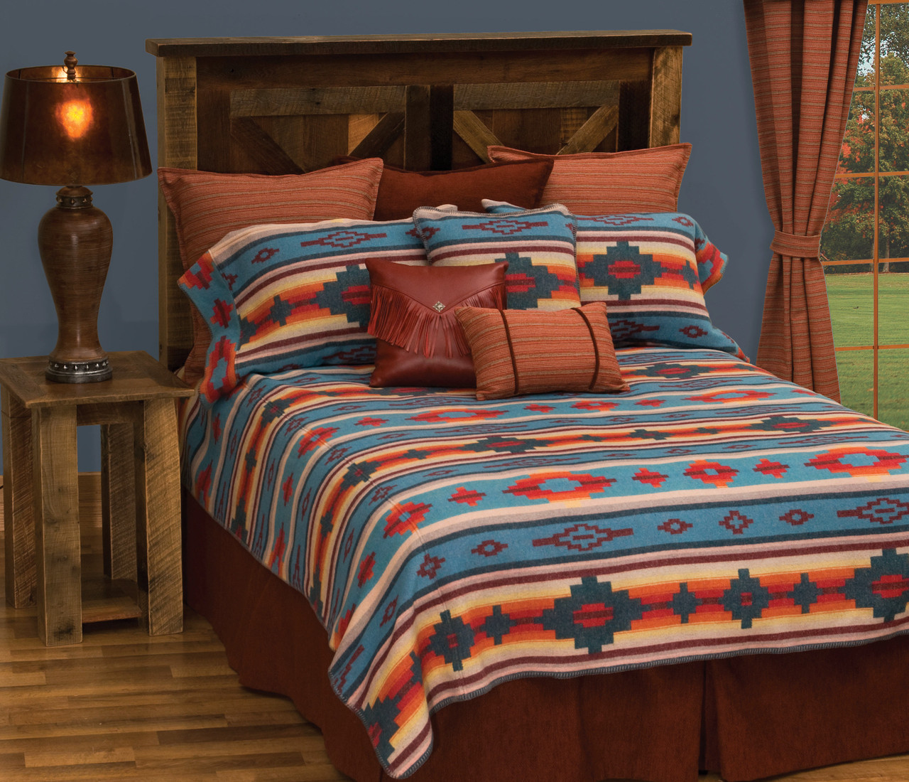 Crystal Creek Bedspread Ensemble