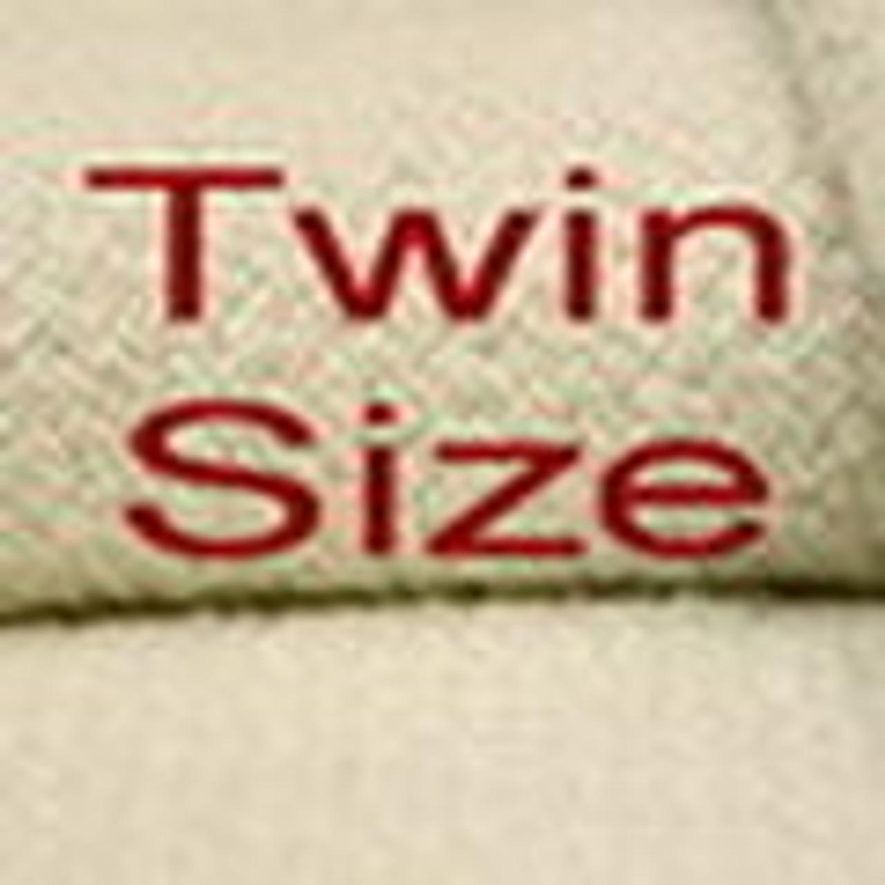 Twin Size Organic Cotton Blankets