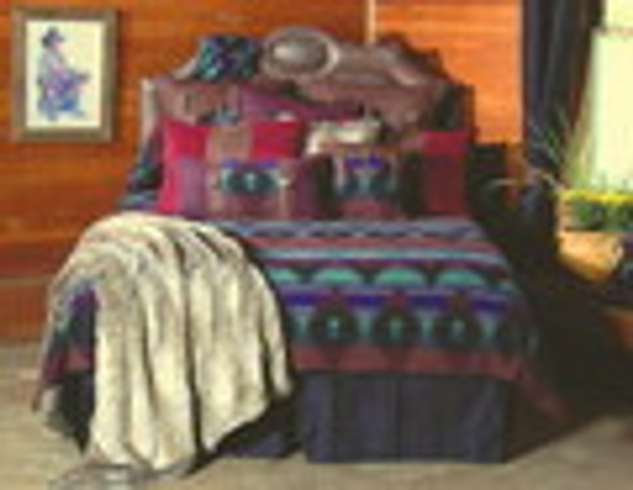 Painted Desert Bedspread Ensemble