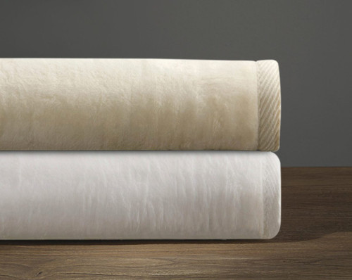 Downtown Company Cashmere Soft Cotton and Acrylic Bed Blanket