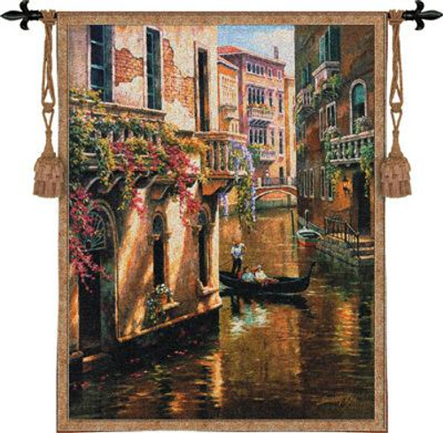 Afternoon Chat Tapestry Wall Hanging PC-3427-WH