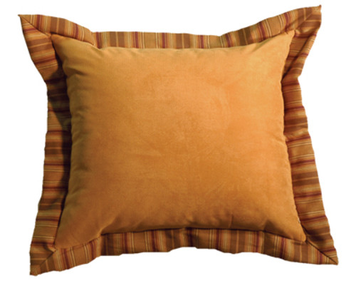 Autumn Leaf Auburn Fabric Alternate Eurosham - Pillow NOT Included