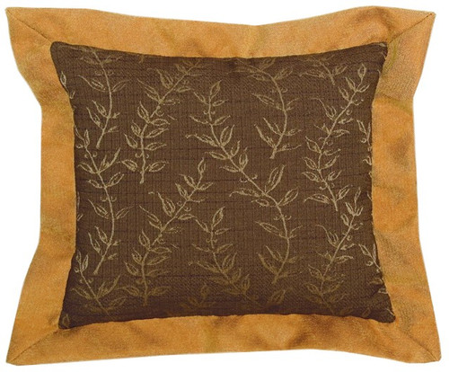 Autumn Leaf Fabric Pillow WD-1264