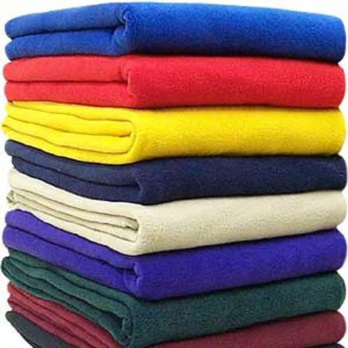Basic Fleece Throw Blanket