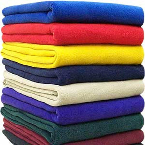 Basic Fleece Throw Blanket