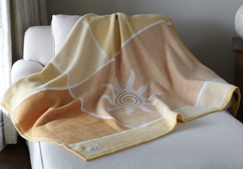 Biederlack Morning Sunburst Throw Blanket