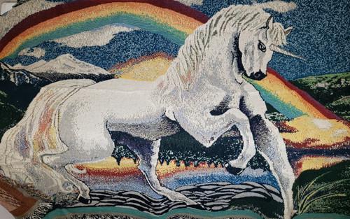Unicorn Tapestry Throw Blanket