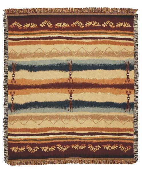 Cimmaron Cimarron Tapestry Throw whole