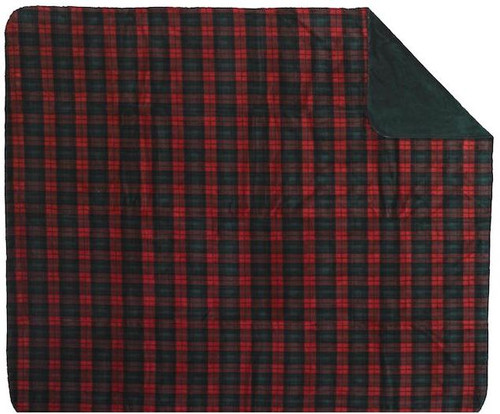 Classic Plaid/Spruce #619 50x60 Inch Throw Blanket