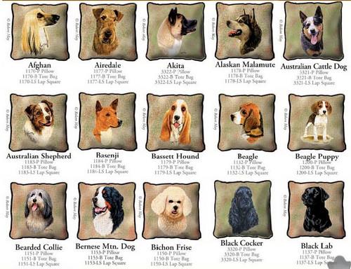 Dog Breed Products / Afghan through Black Lab
