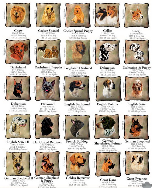 Dog Breed Products / Chow through Great Pyrenees