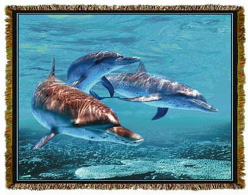 Dolphins Throw MS 5069TU4