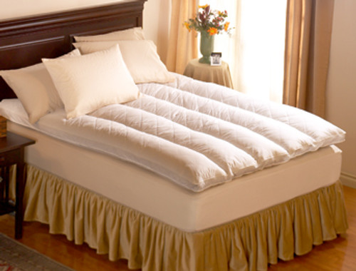 Pacific Coast® Twin Euro Rest® Feather Bed