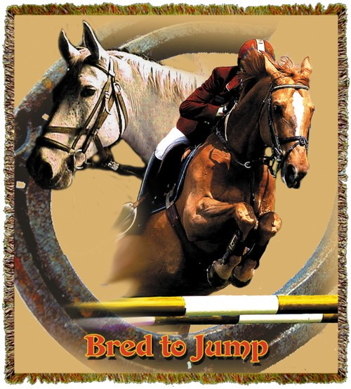 Horse Jumper Throw