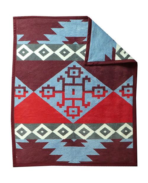 Ibena Chama Southwestern baby blanket