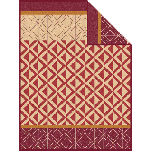 Ibena Kaschan Geometric Throw Blanket