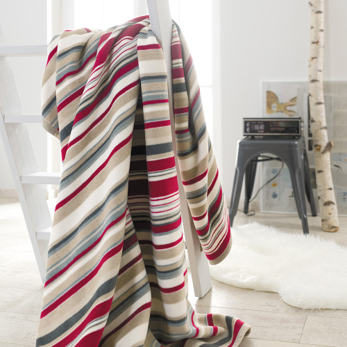 Ibena Messina Stripes Galore Blanket