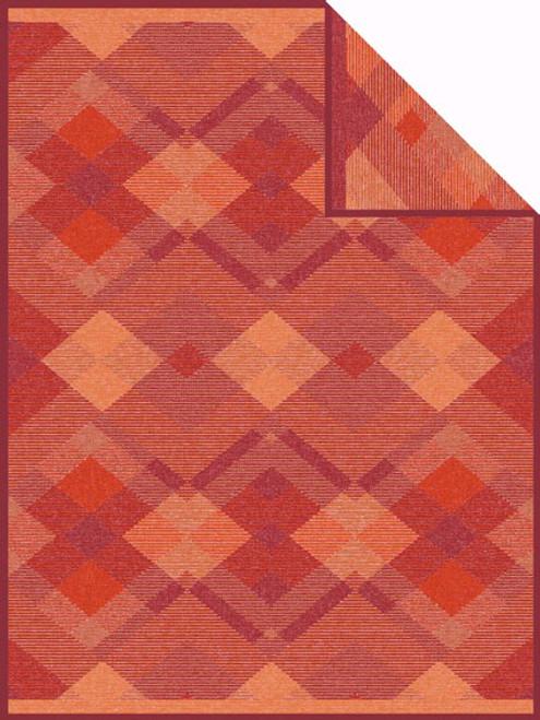 Ibena Amol Jacquard Blanket