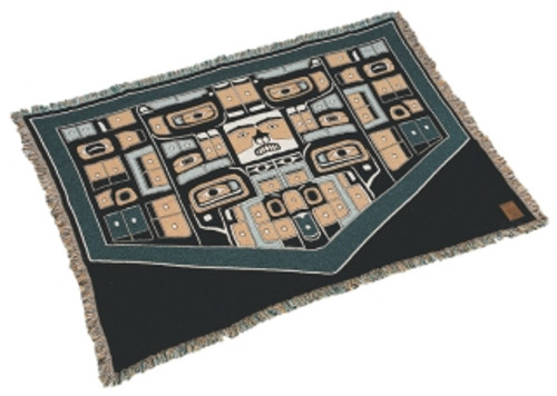 Kanata Chilkat Cotton Throw
