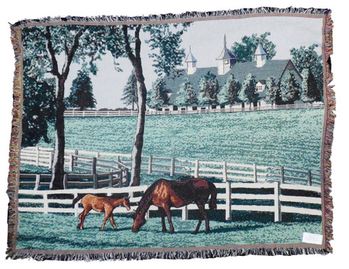 Kentucky Dreamin Tapestry Throw 10126
