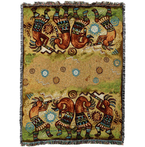 Koko Quartet Tapestry Throw