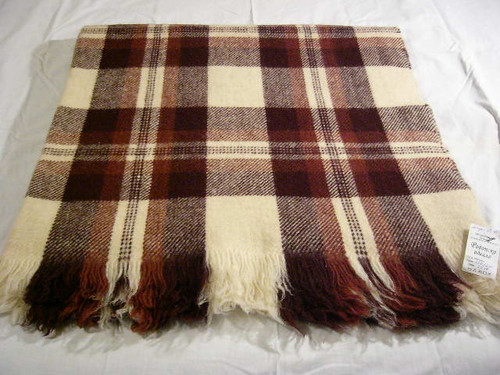 Lebarca Black Sea 100 Percent Organic Wool Blanket
