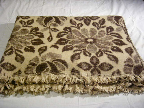 Rose 100 Percent Organic Wool Blanket
