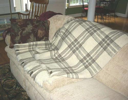 Warm Mornings 100% Organic Wool Blanket