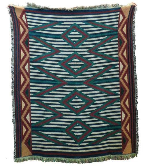 Navajo Weavings Tapestry Throw 6449TU4