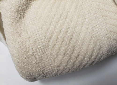 Queen Size Organic Cotton Chenille Blanket