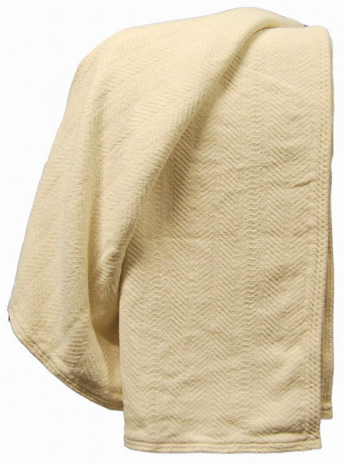 Organic Cotton Chenille Throw