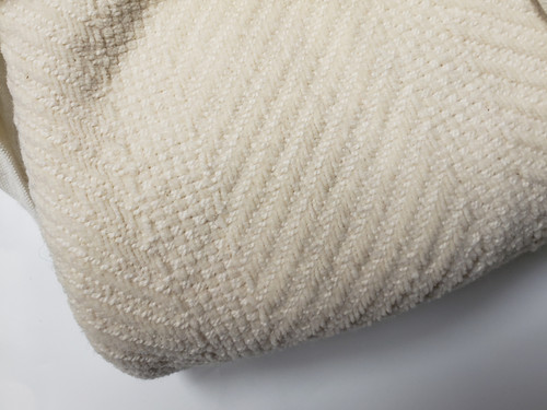 Twin Organic Cotton Chenille Blanket