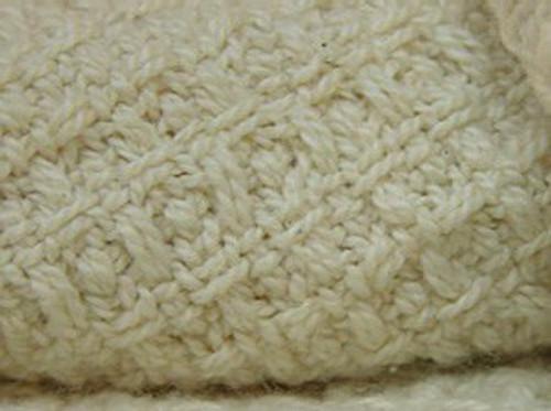 Organic Cotton Waffle Weave Full Sized Blanket FU-WF-1