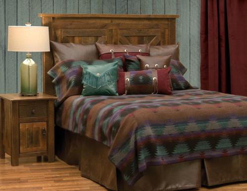 Wooded River Painted Desert III Bedspread