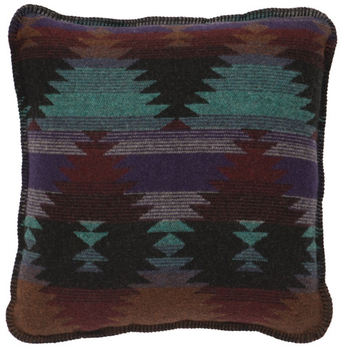Wooded River Painted Desert III Pillow