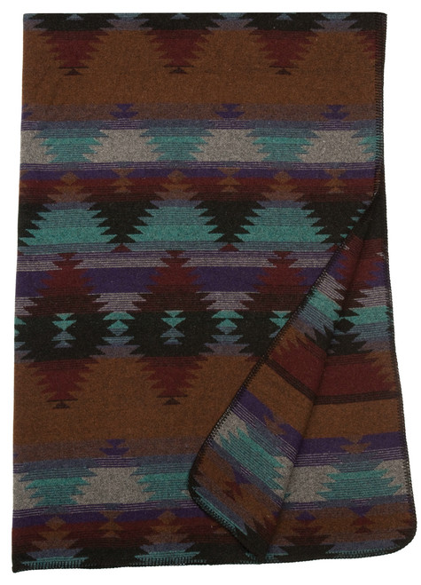 Wooded River Painted Desert III Southwest Throw