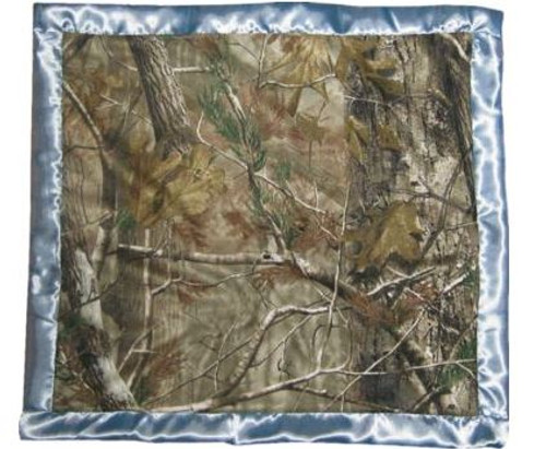 Realtree AP Blue Camo Baby Blanket by Carstens