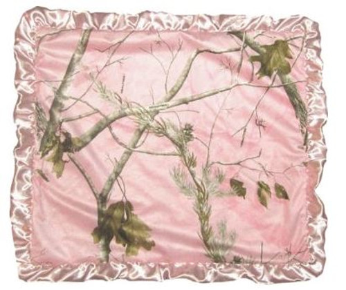Realtree AP Camo Baby Blanket Pink by Carstens Inc.