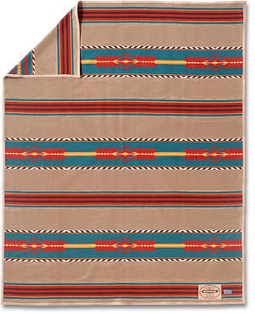 Santa Fe Trail Pendleton Blanket By Ramona Sakiestewa