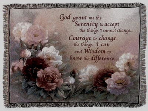 Serenity Tapestry Throw