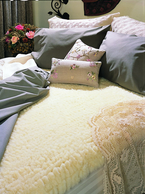 SnugFleece Original Wool Mattress Pads
