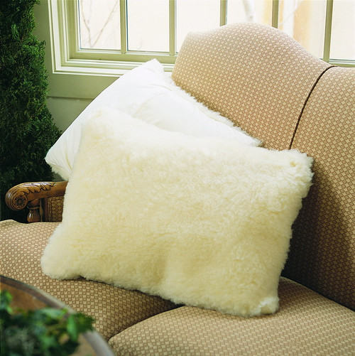 SnugSoft Imperial Washable Wool Pillow Shams