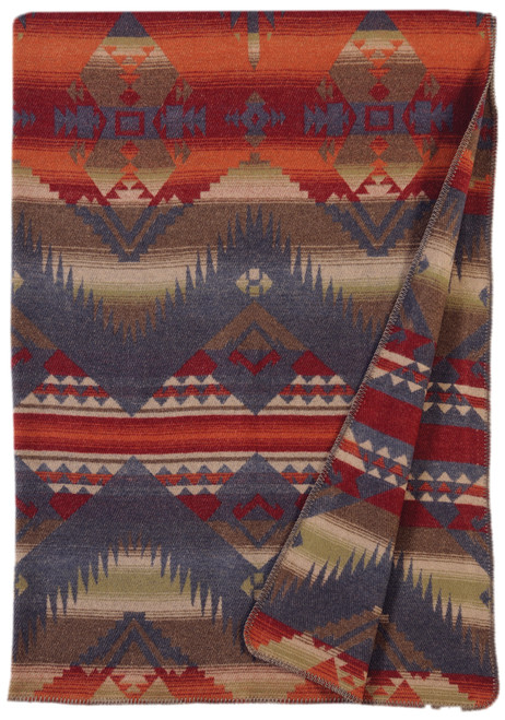 Wooded River Socorro Throw
