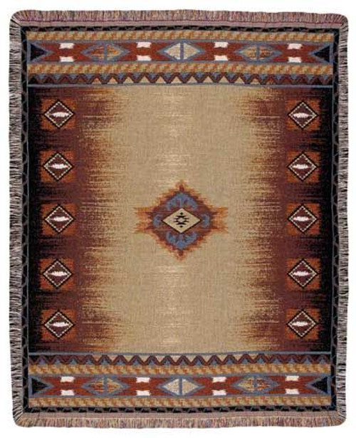 Southwest Tapestry Throw TPM779